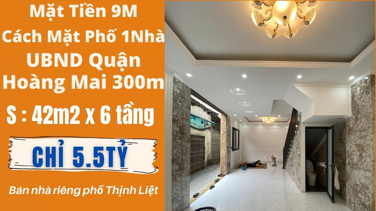 image Bán Nhà Hà Nội Phố Thịnh Liệt Mặt Tiền 9m Cách Mặt Phố 1 Nhà Bán Nhà Hà Nội 2021