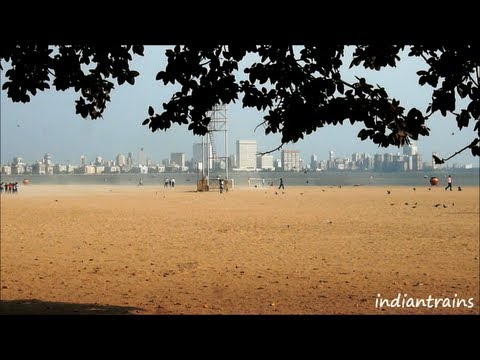 travel india@ girgaum chowpatty beach/marine drive/queen's necklace, mumbai, maharashtra, india