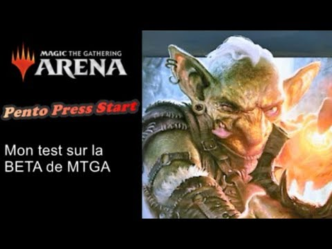 Première approche sur Magic The Gathering Arena (PPS)