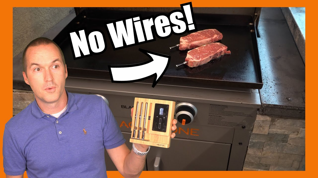 5 Smart GRILLING Gadgets to Up Your BBQ Game.  Meater, FlameKing, ThermPRO and More.