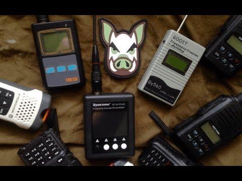 Сканер частот. surecom sf401, GOOIT Gy560, IBQ101. Результаты тестов дальности.