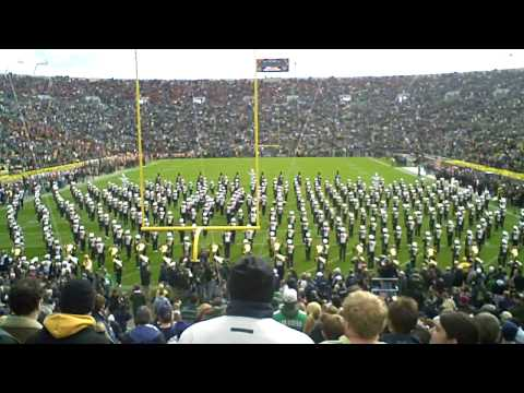 Notre Dame Marching Band (March Out and Fanfare) vs. USC