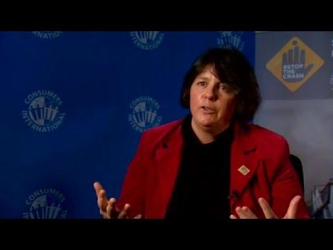 Amanda Long on Consumers International joining the Stop the Crash partnership