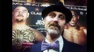 Anthony Joshua must FIGHT TALL, Ruiz must STAY IN SHAPE - David Diamante