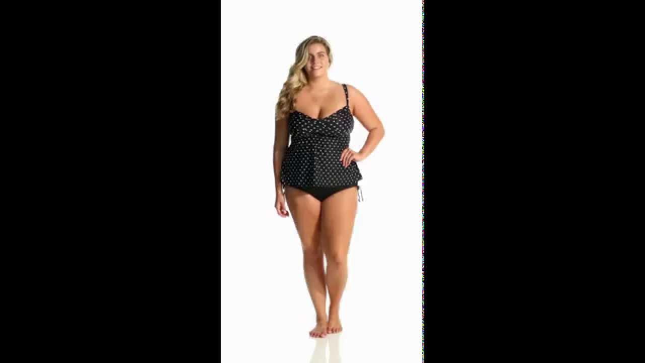 e88fcf7c040 24th   Ocean Plus Size Adjustable High Waist Bikini Bottom ...
