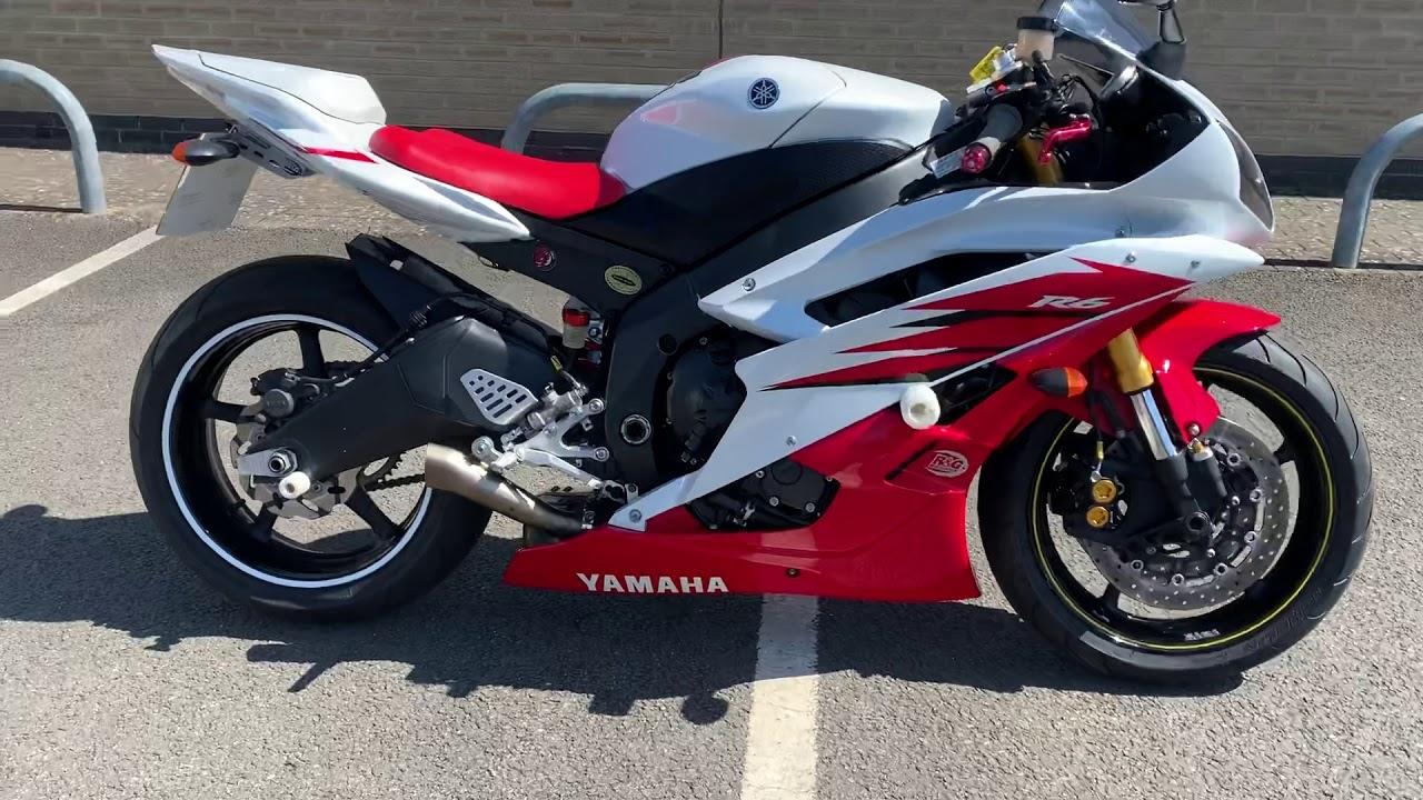 yamaha yzf r6 2006 akrapovic exhaust completely motorbikes
