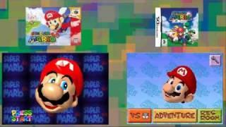Mario 64 vs Mario 64 DS side by side comparison