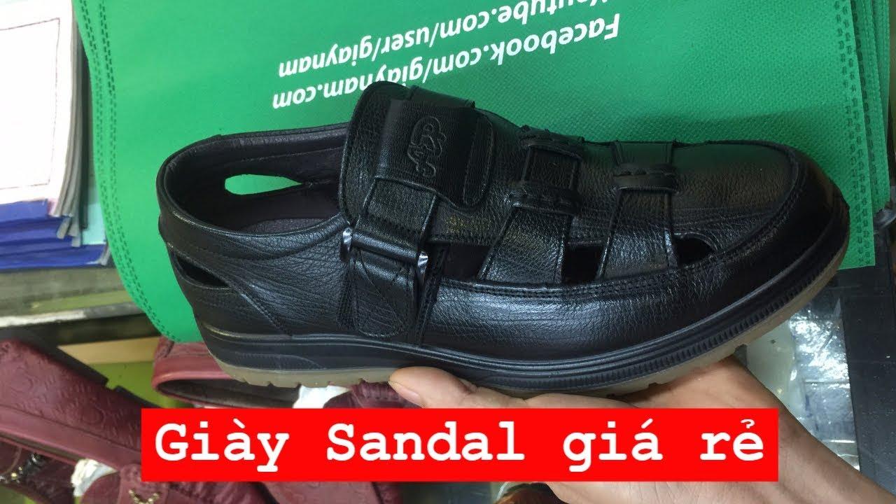 giày sandal nam cao cấp cực độc 2019| MS: GL922572D