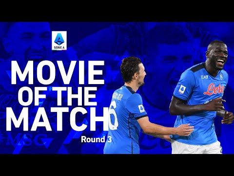 Koulibaly fires winner for Napoli! I | Napoli 2-1 Juventus | Movie of The Match | Serie A 2021/22