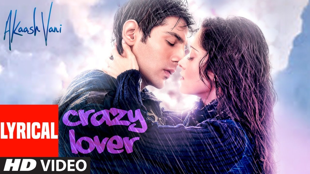 Crazy Lover Lyrical | Akaash Vani |Kartik Aaryan, Nushrat Bharucha |Vishal D, Sunidhi C, Luv Ranjan