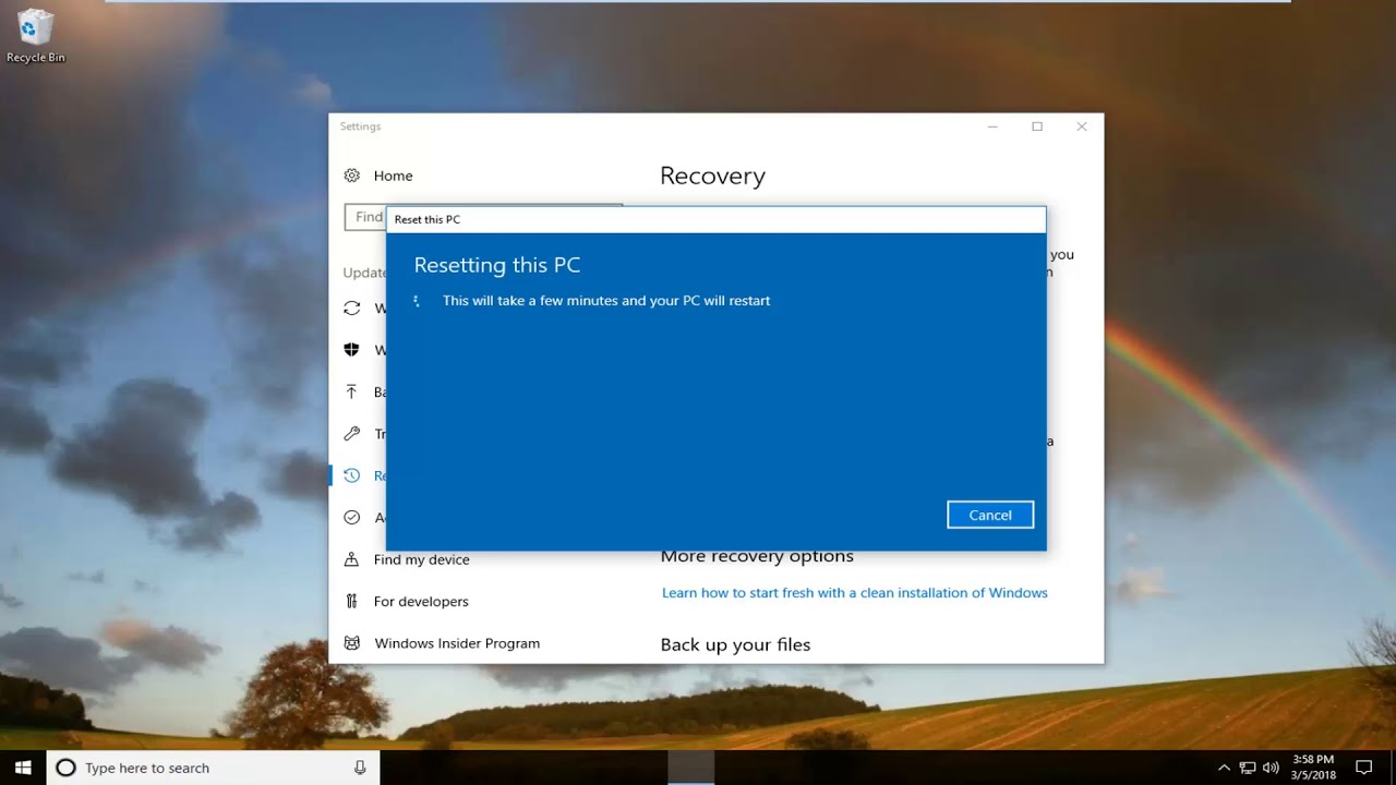 Restore Dell Inspiron 15 3000 Series to Factory Settings In Windows 10  Tutorial