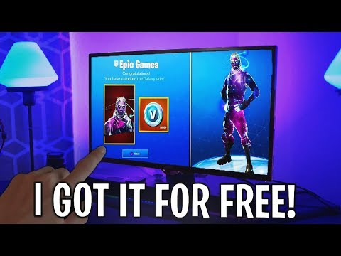 "How to UNLOCK the ""GALAXY SKIN"" FREE in FORTNITE! *FULL TUTORIAL* - Fortnite Battle Royale"