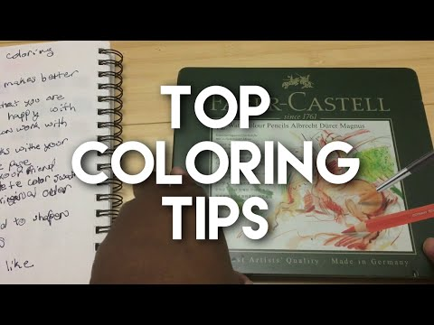 Top Adult Coloring Tips