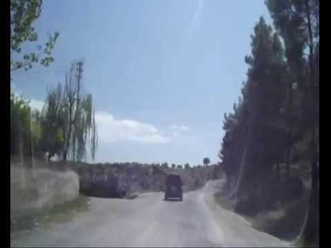 Boyabat Yiğren köyü Yolu Köylere Çıkarken