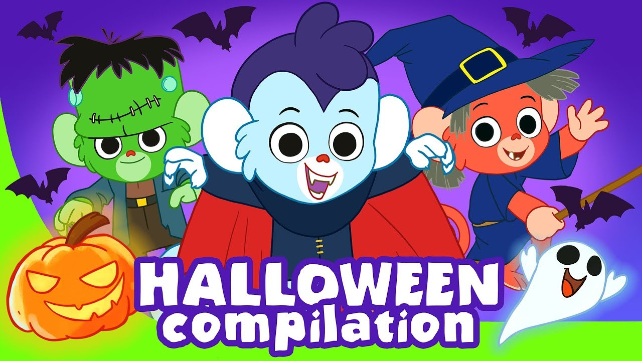 Halloween for Kids | Scary ABC and more spooky cartoons ...