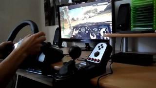 DiRT 3 PC Gameplay on Logitech G25 [HD]