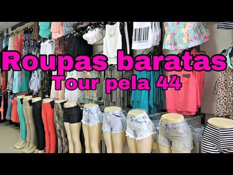 f3fd979a9 ROUPAS BARATAS NA 44 (GOIÂNIA) - YouTube