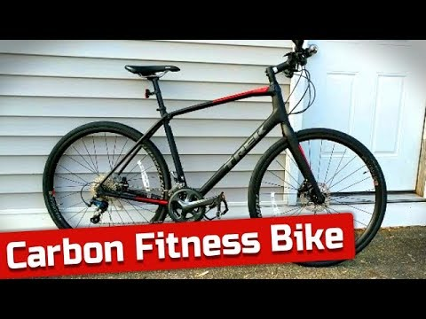 Carbon Fitness Hybrid  The Trek FX Sport 5 Carbon Bike Feature Review and Weight