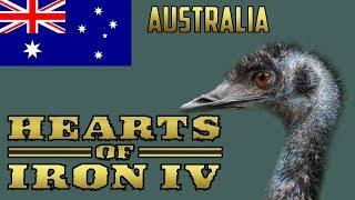 Hearts of iron 4 Ironman Australia #2
