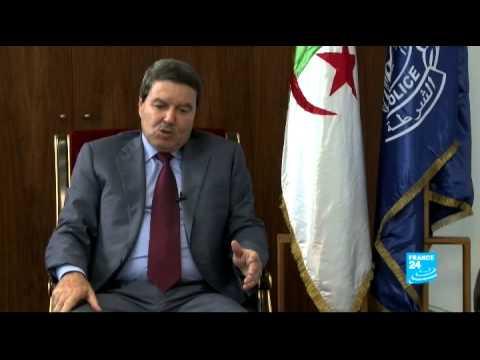 Général-major Abdelghani Hamel, directeur général de la sûreté algérienne