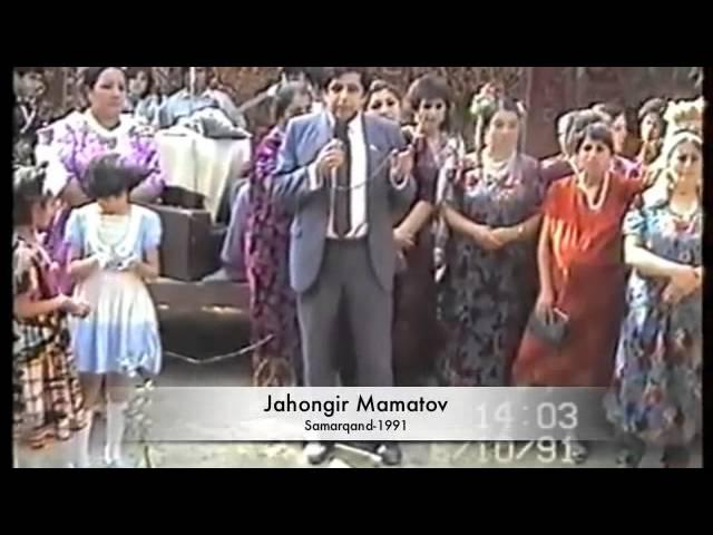 Jahongir Mamatov 1991 yilda