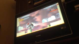 MLG Super Luigi Bros Wii Dry Bowser in the End