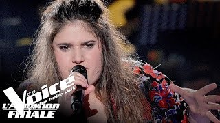 Stromae - Ave Cesaria | Sherley Paredes | The Voice France 2018 | Auditions Finales