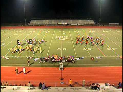 Liberty Union Band - OMEA State Marching Band Finals 2011