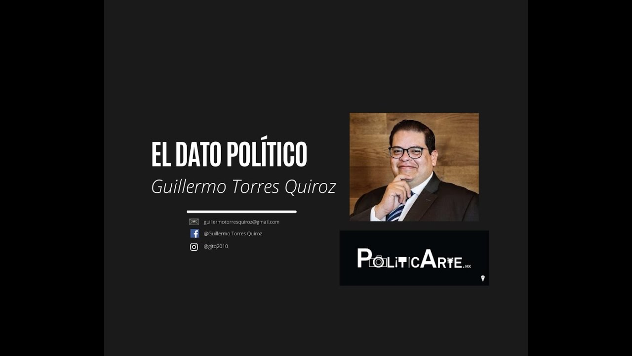 🔴 El dato político con Guillermo Torres Quiroz