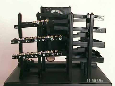 orologio con sfere acciaio