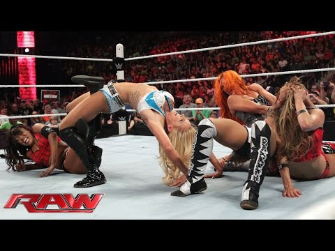 NXT Divas emerge to challenge Team Bella: Raw, July 13, 2015