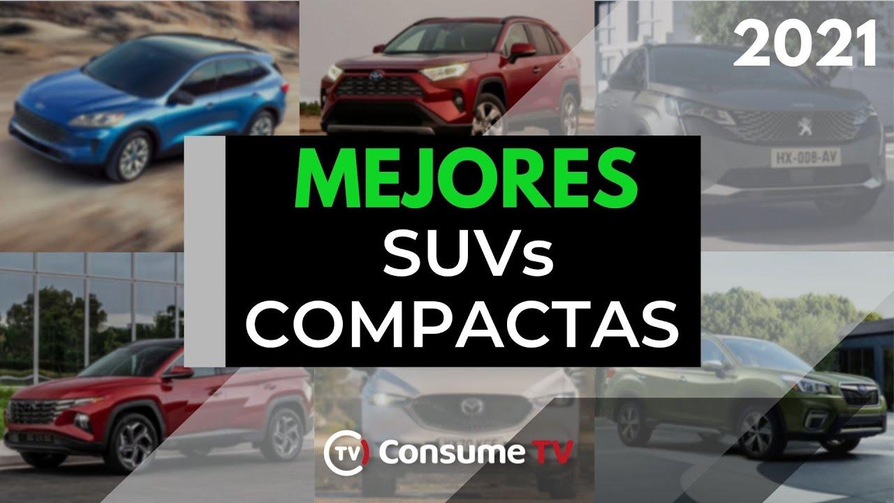 Las 10 MEJORES SUVs COMPACTAS que puedes comprar