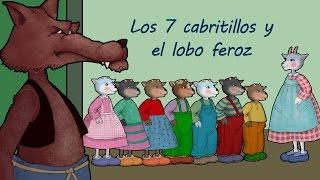 Los Siete Cabritillos y El Lobo Feroz video cuento infantil en español thumbnail