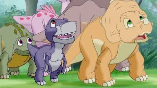 The Land Before Time Full Episodes | The Amazing Threehorn Girl 119 | HD | Cartoon for Kids