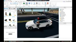 Driving BMW M5 Police Car 🚔 in Roblox