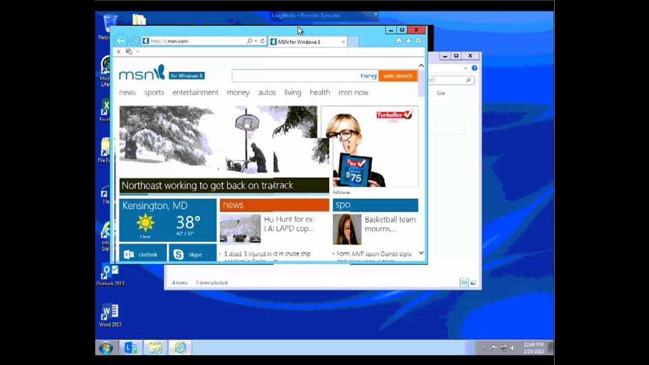 how to use composer on windows server 2012 remote desktop