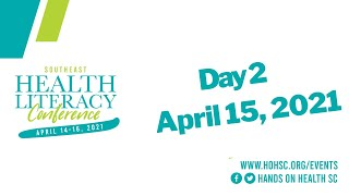 Conference Day 2: April 15, 2021