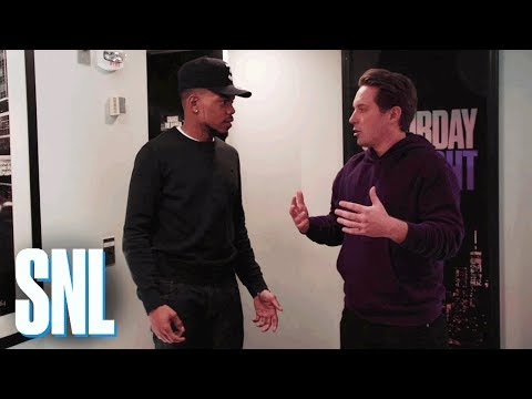 SNL Host Chance the Rapper Dances It Out