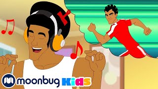 Supa Strikas S1 E02 - Cool Joe Loses His Groove | Moonbug Kids TV Shows - Full Episodes