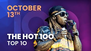 Early Release! Billboard Hot 100 Top 10 October 13th, 2018 Countdown | Official