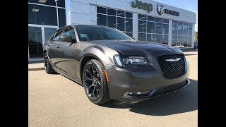 2019| Chrysler| 300S| Leather| Sunroof| Low KM| Remote Start| Grove Dodge