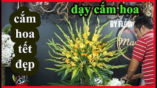 Creative Church Flower Arrangement 87|Gladiolus Flower arrange