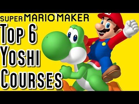 Super Mario Maker TOP 6 YOSHI COURSES (Wii U)