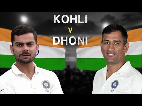 Virat Kohli v MS Dhoni: Comparing the two...