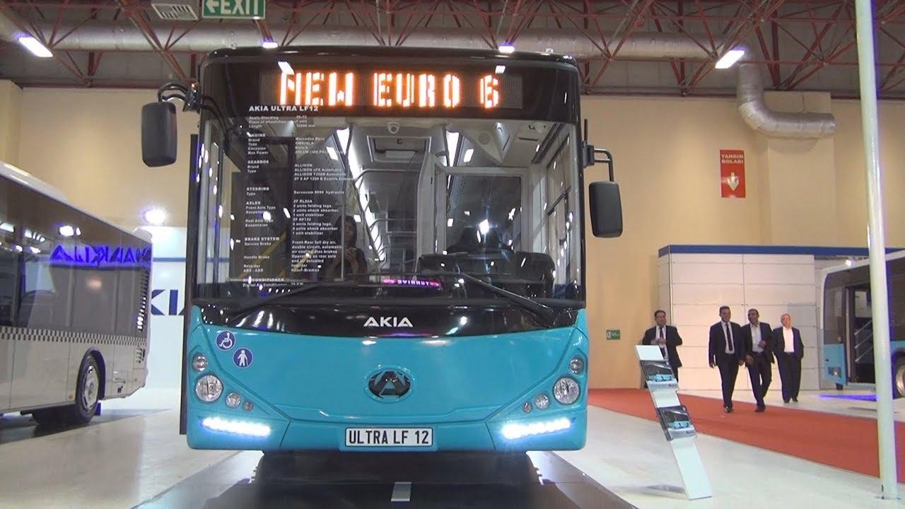 Akia Ultra LF12 Bus (2016) Exterior and Interior - YouTube