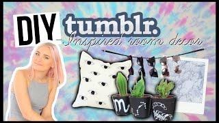 DIY tumblr ROOM DECOR, tie dye tapestry, eye pillow, marble platter, astrology pots etc...
