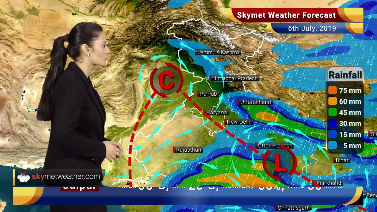 Weather Forecast July 6: Heavy rains to lash Jabalpur, Satna, Monsoon  showers in Delhi