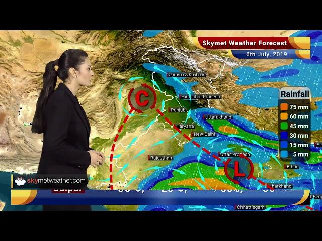 Weather Forecast July 6: Heavy rains to lash Jabalpur, Satna