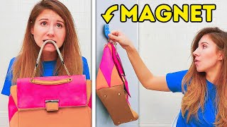 25 MAGNET TRICKS YOU NEED EVERYDAY