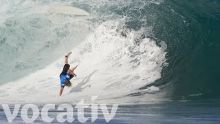 The Biggest Waves And Wipeouts Of The Year